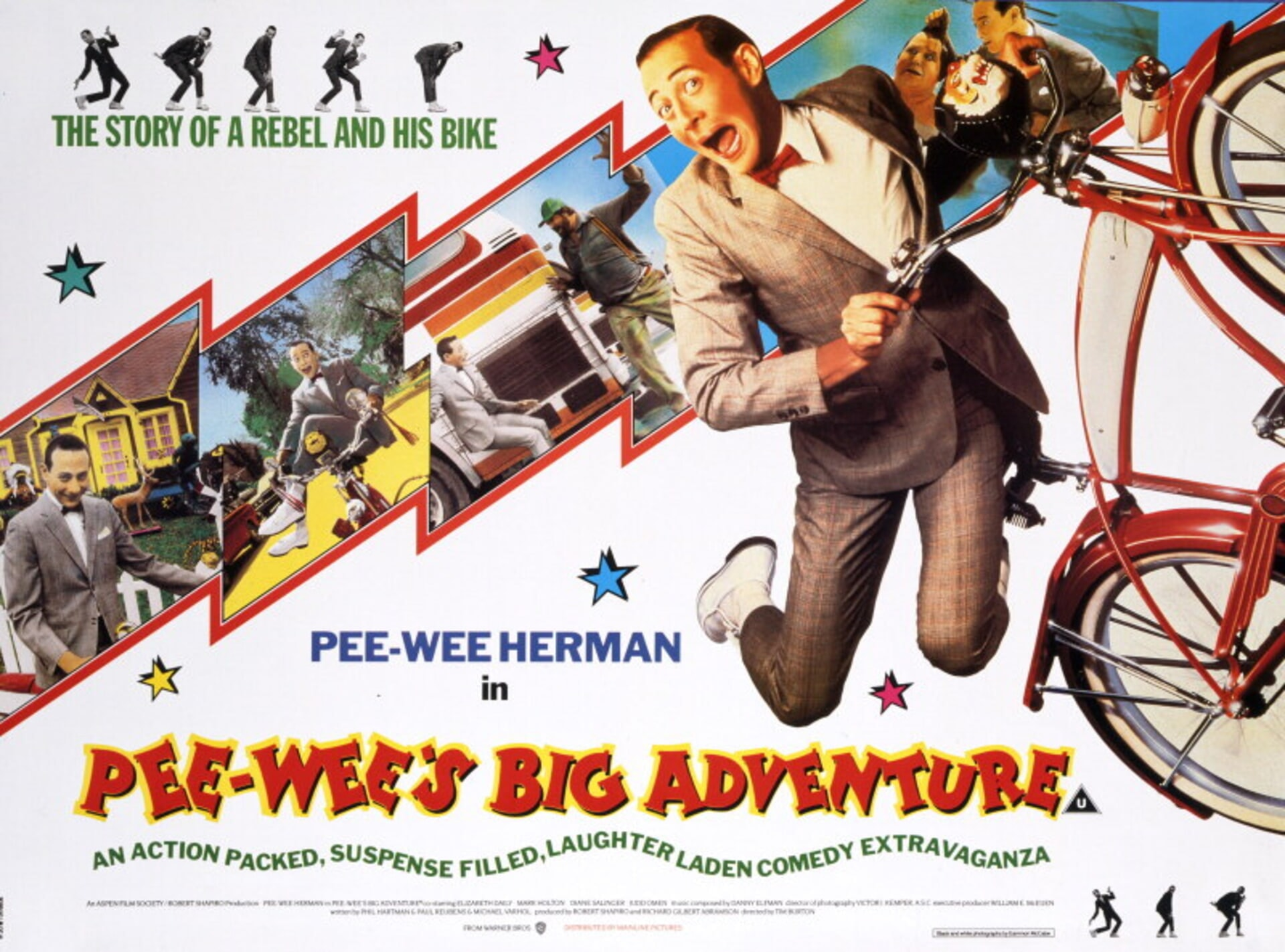 Pee-wee's Big Adventure - Poster 2