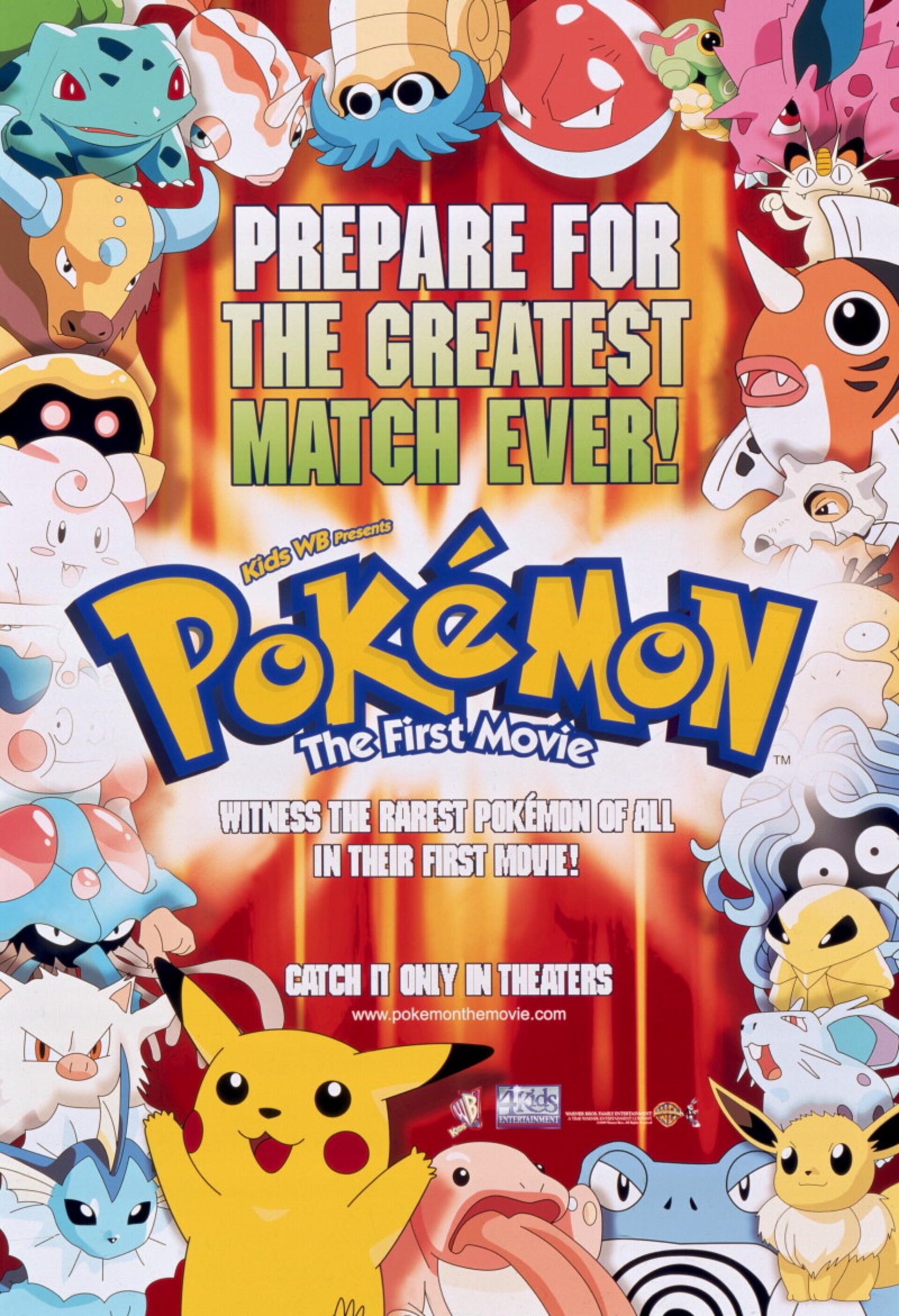 Pokemon: the First Movie - Poster 1