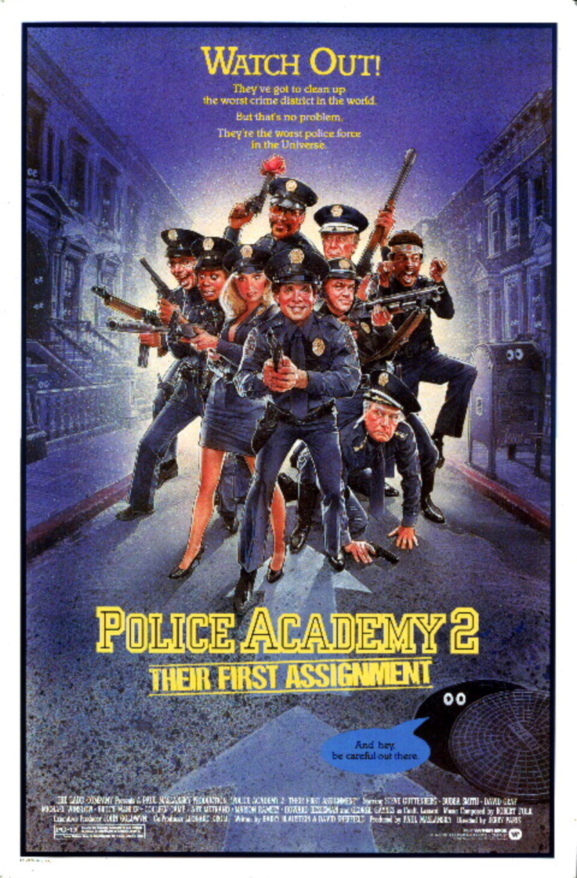 Police Academy 2: Their First Assignment - Poster 1