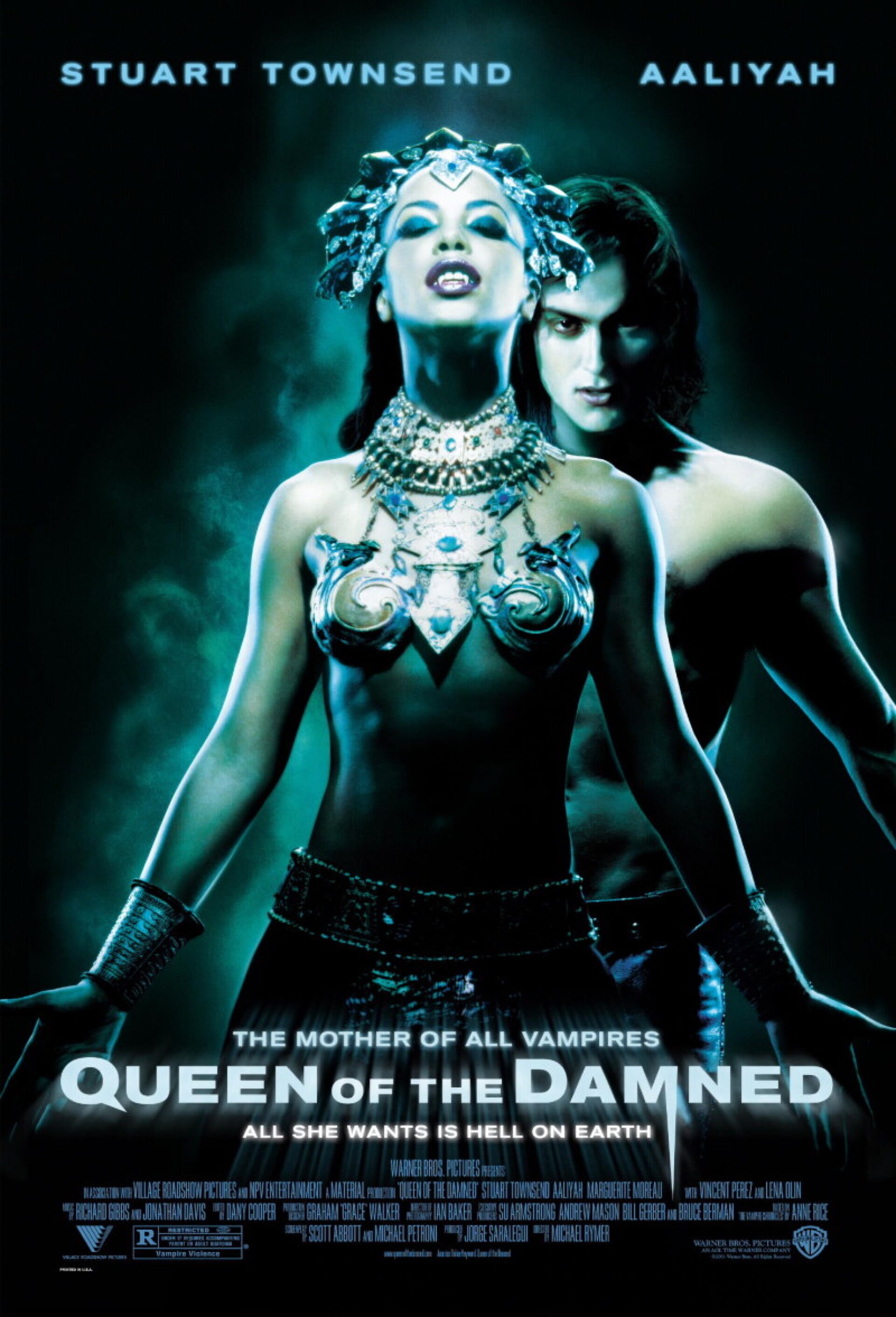 Queen of the Damned - Poster 1