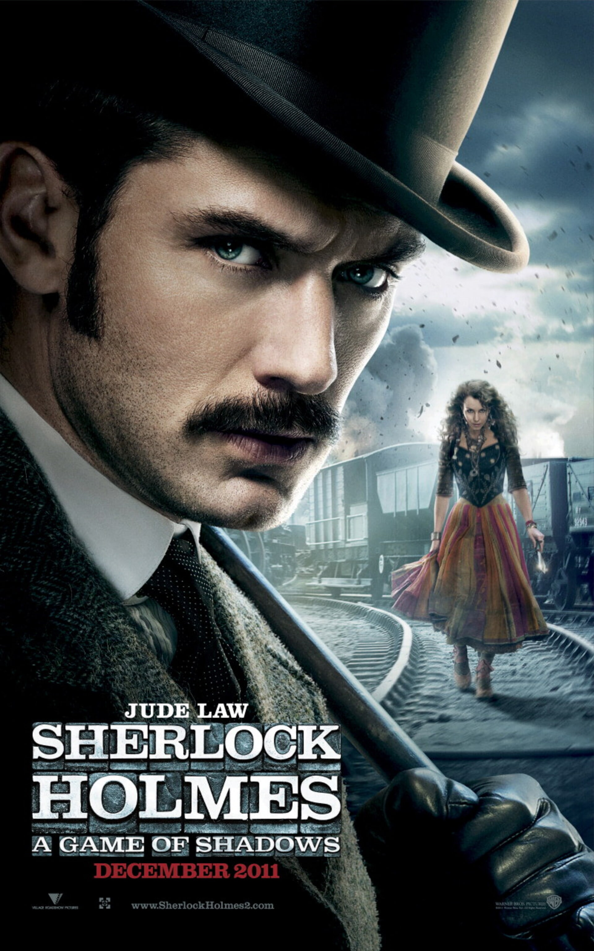 Sherlock Holmes: A Game of Shadows - Poster 2