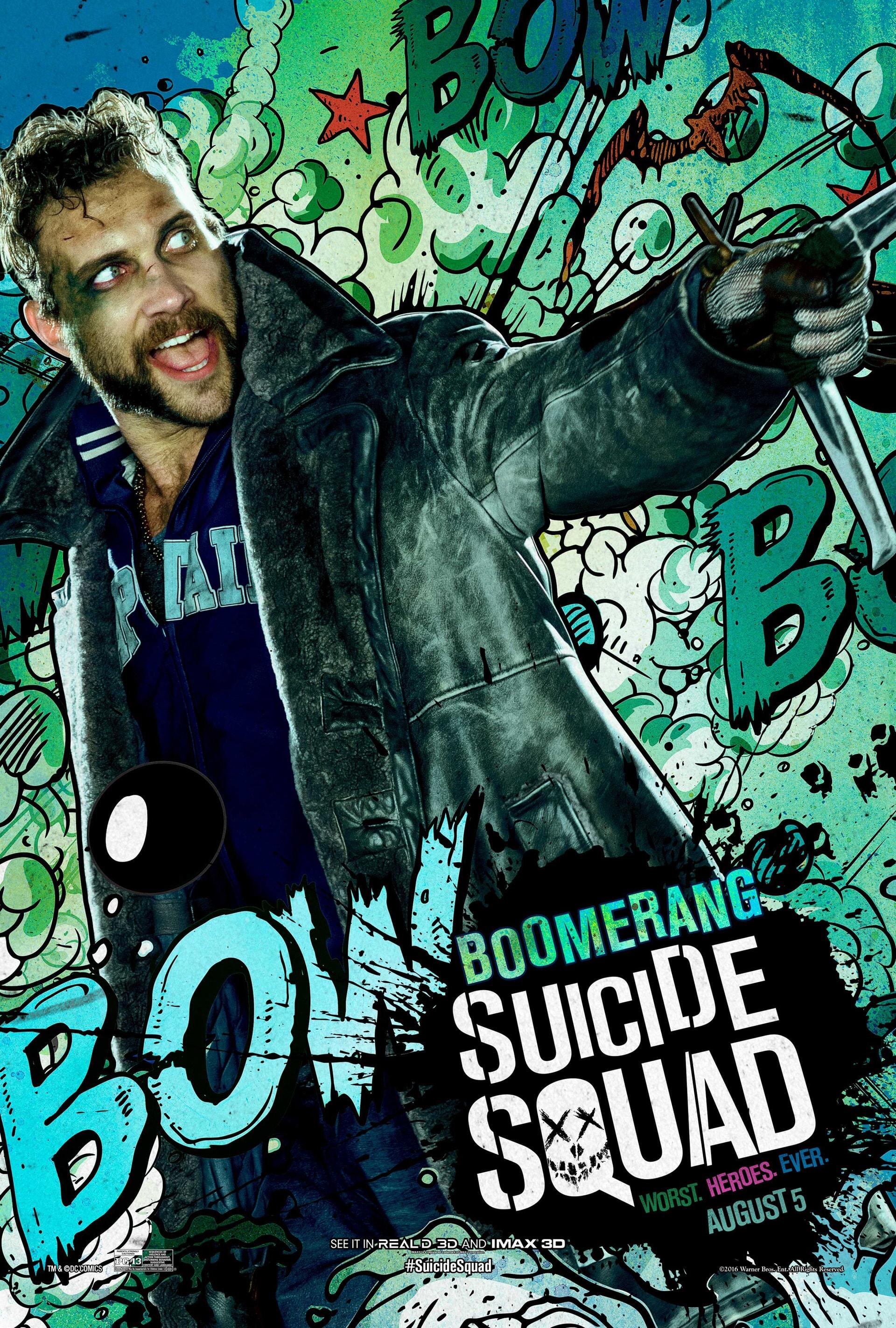 Suicide Squad - Boomerang