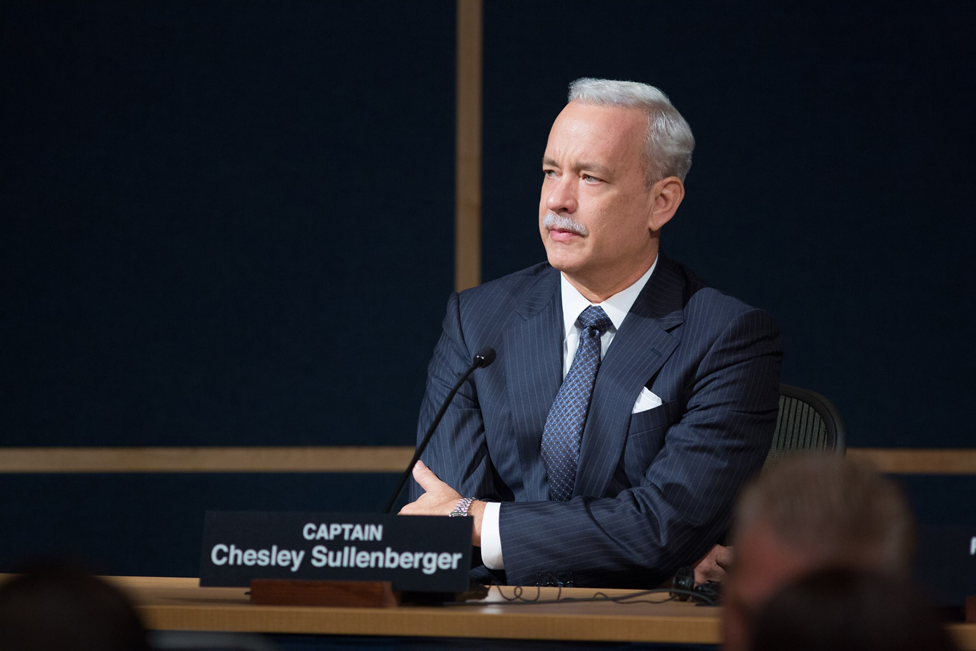 """TOM HANKS as Chesley """"Sully"""" Sullenberger in the upcoming film """"SULLY,"""""""