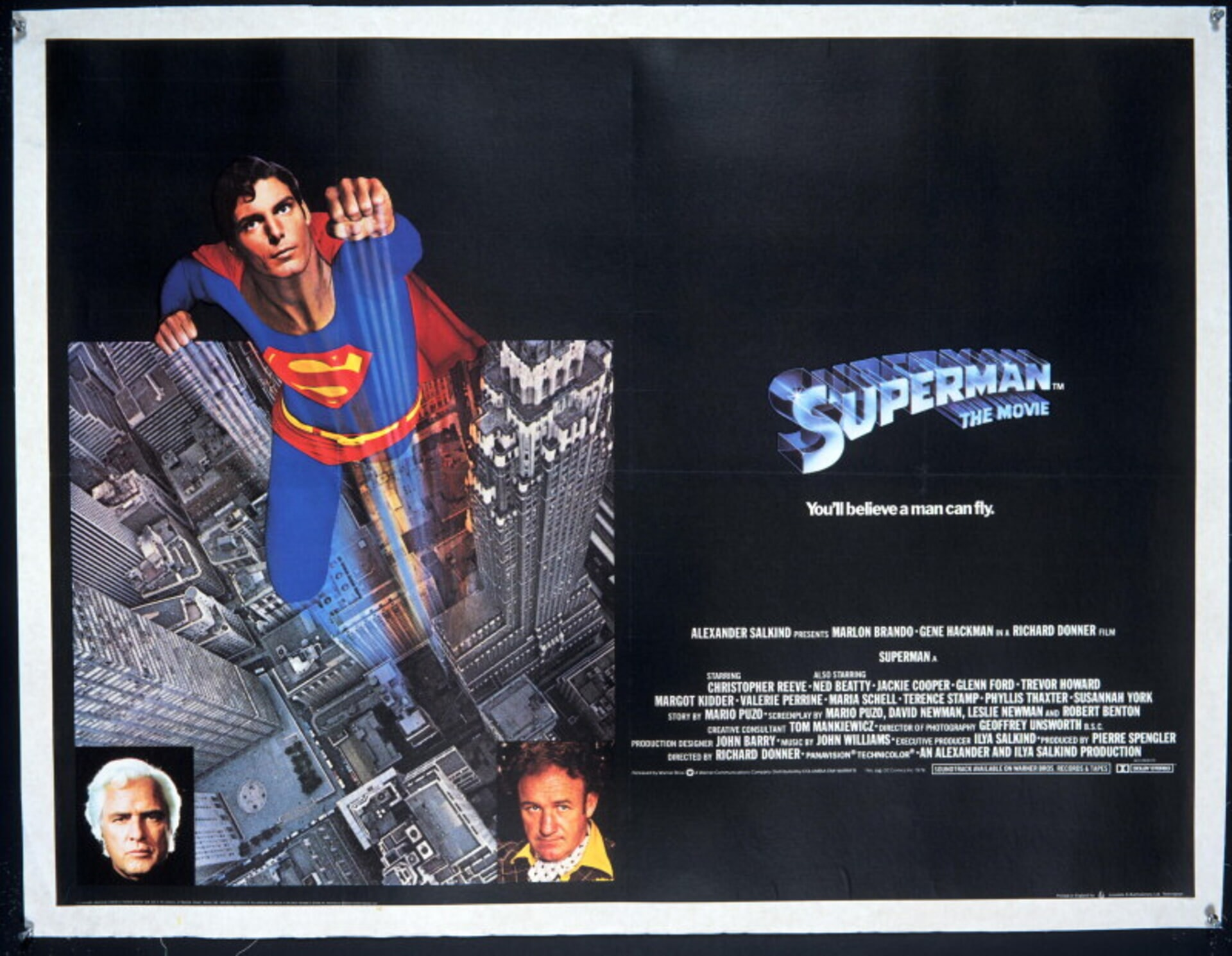 Superman: The Movie - Poster 3