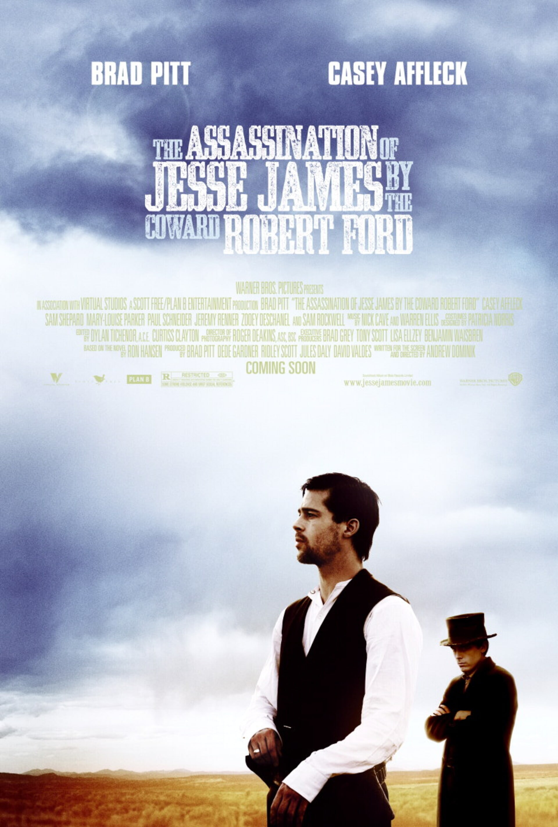 The Assassination of Jesse James by the Coward Robert Ford - Poster 1