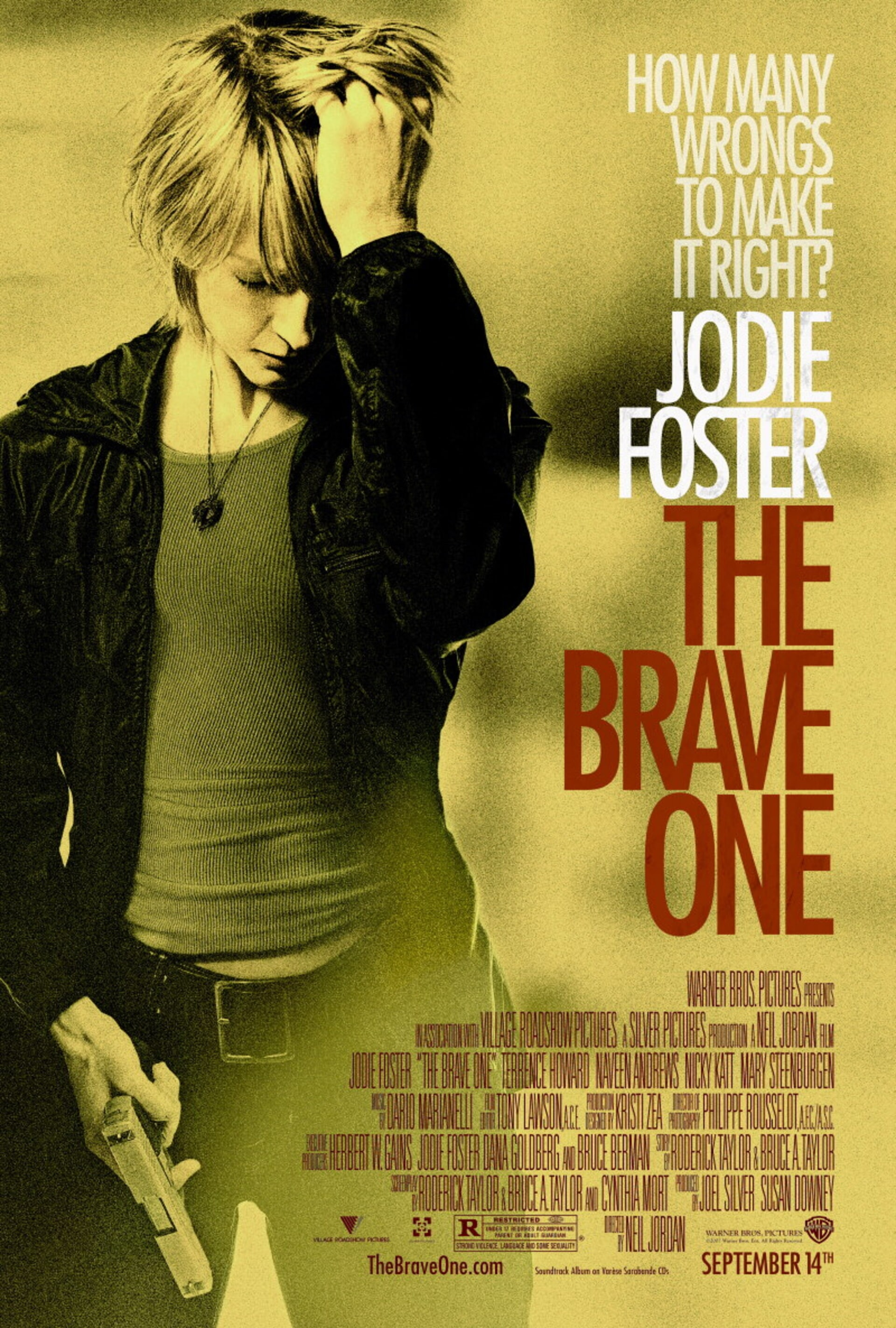 The Brave One - Poster 1