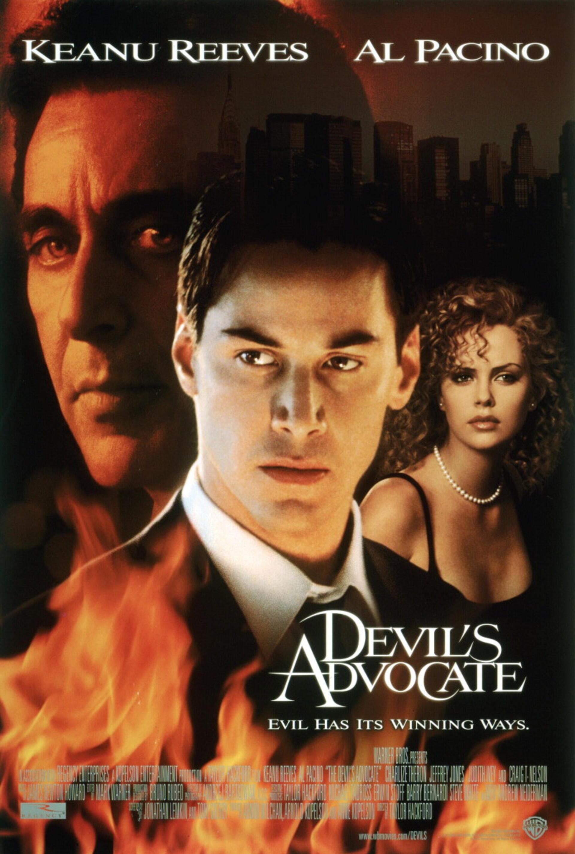The Devil's Advocate - Poster 1