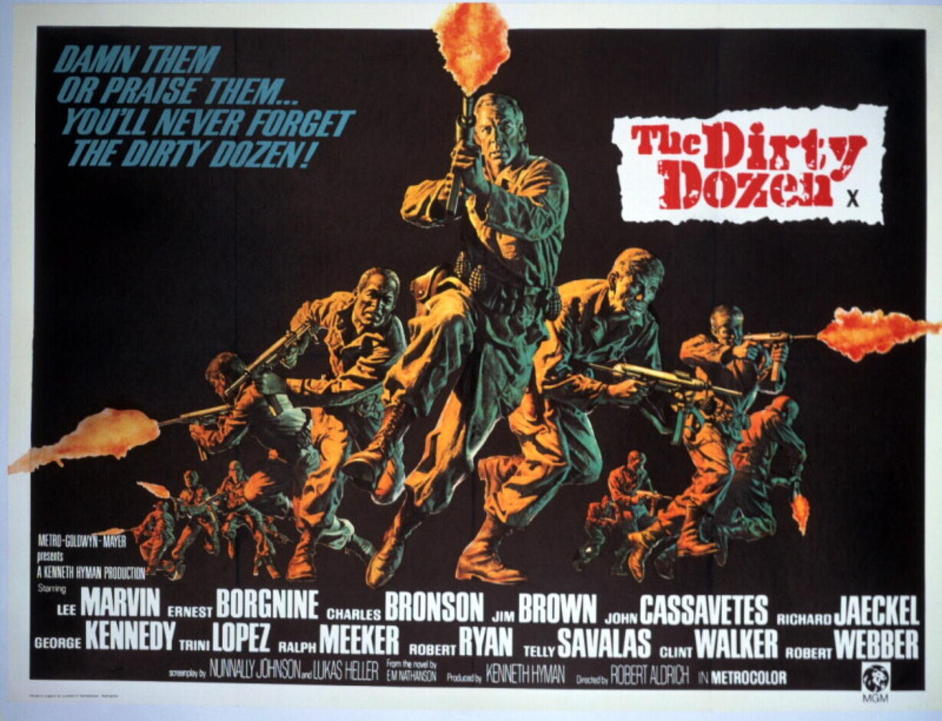 The Dirty Dozen - Poster 3
