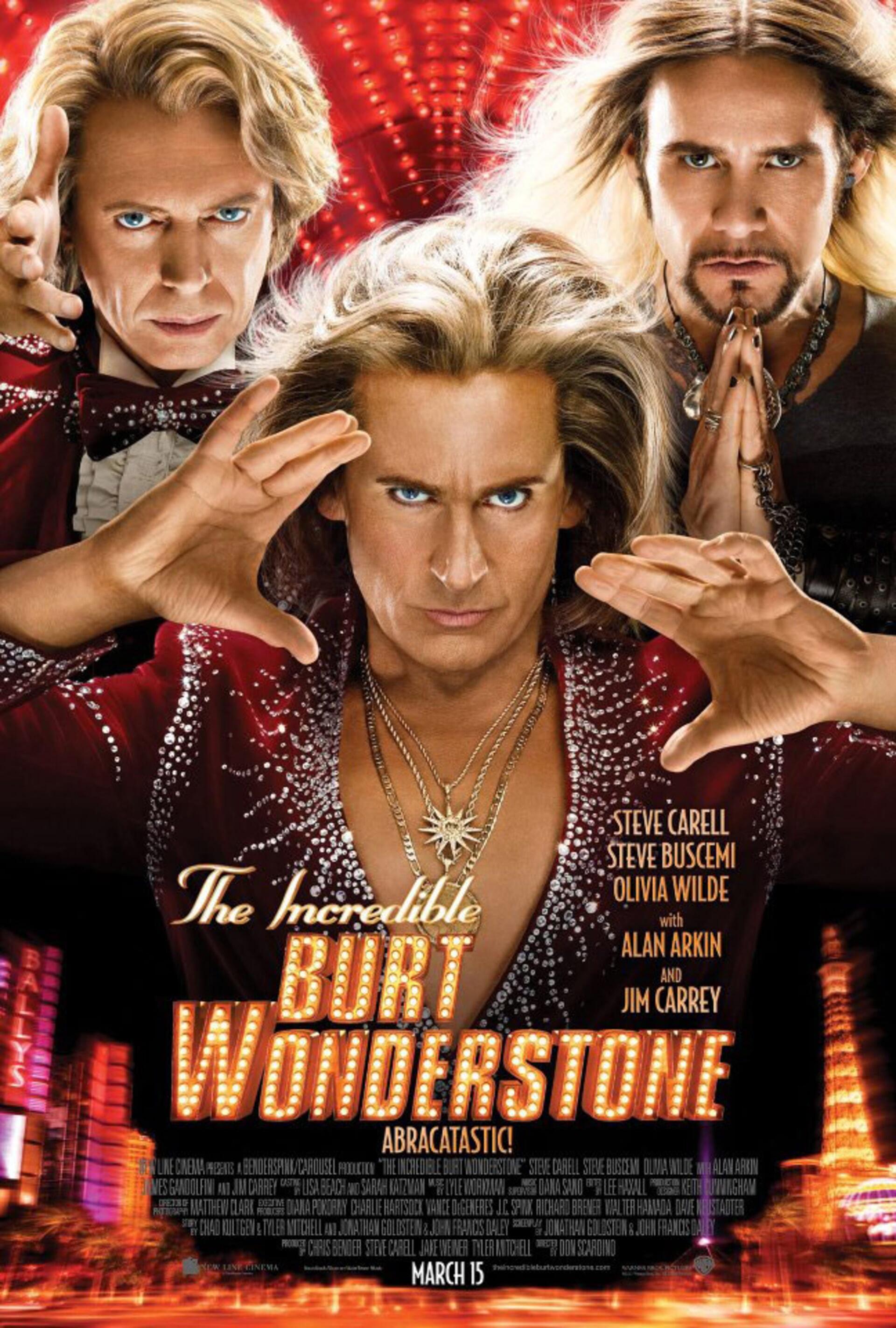The Incredible Burt Wonderstone - Poster 1