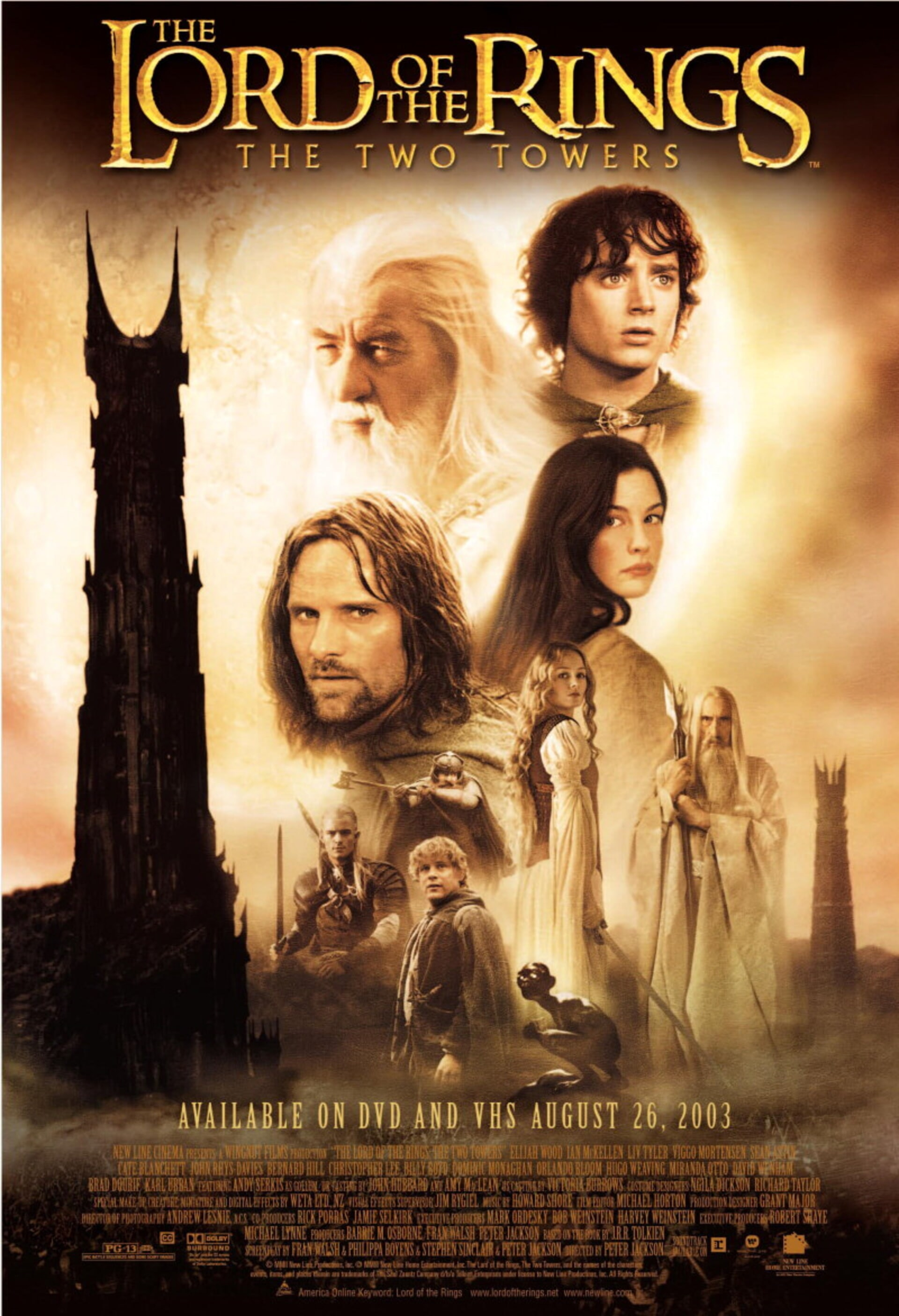 The Lord of the Rings: The Two Towers - Poster 2