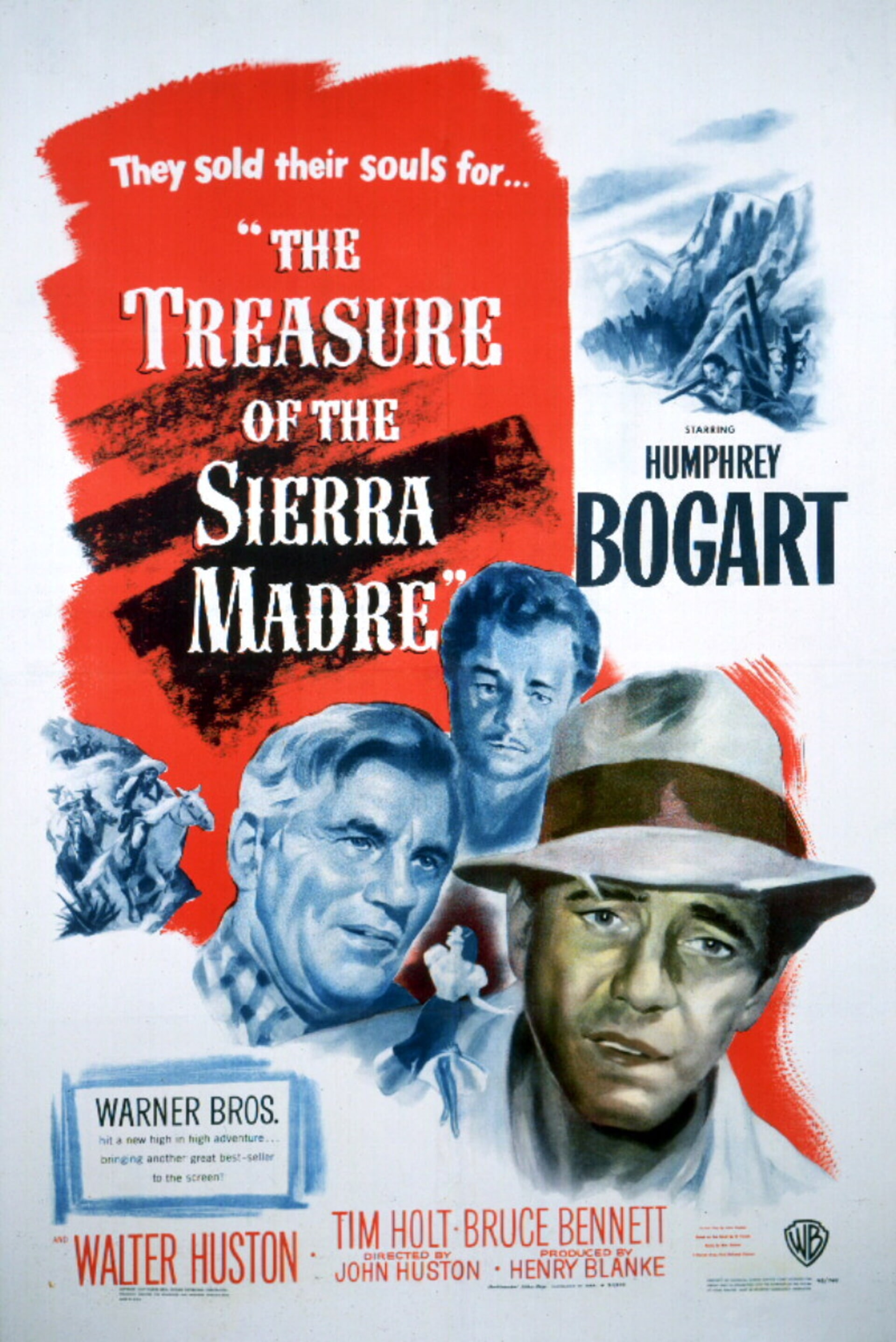 The Treaure of the Sierra Madre - Poster 1