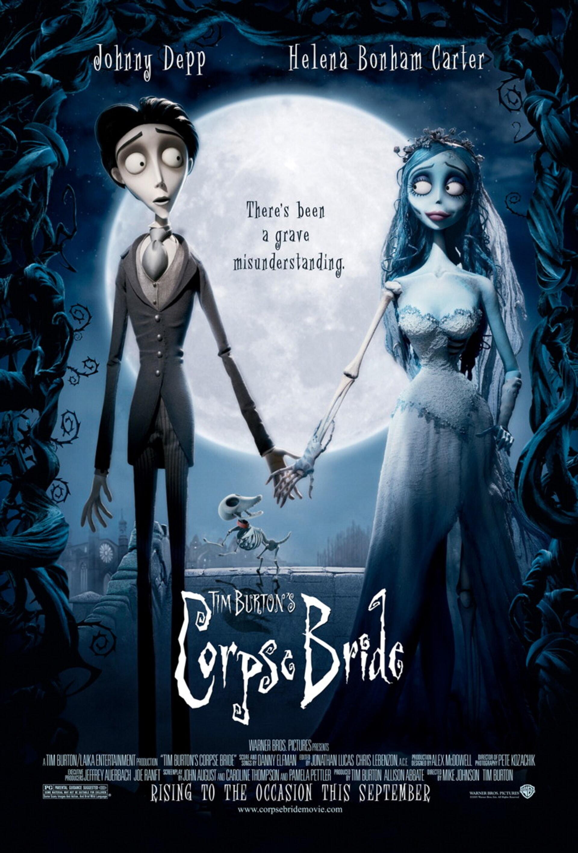 Tim Burton's Corpse Bride - Poster 1