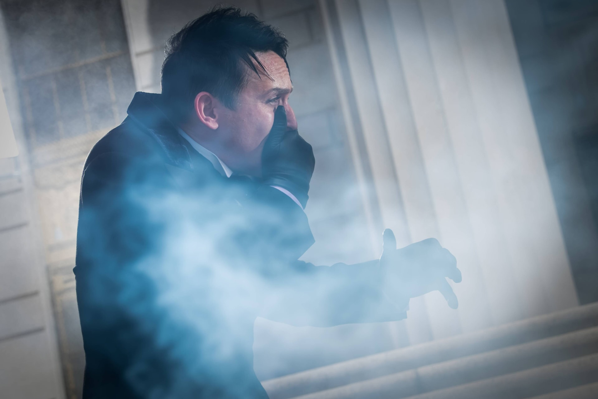 """Robin Lord Taylor as Oswald Cobblepot / The Penguin. Gotham 3, ep. 5 """"Any Thing For You"""""""