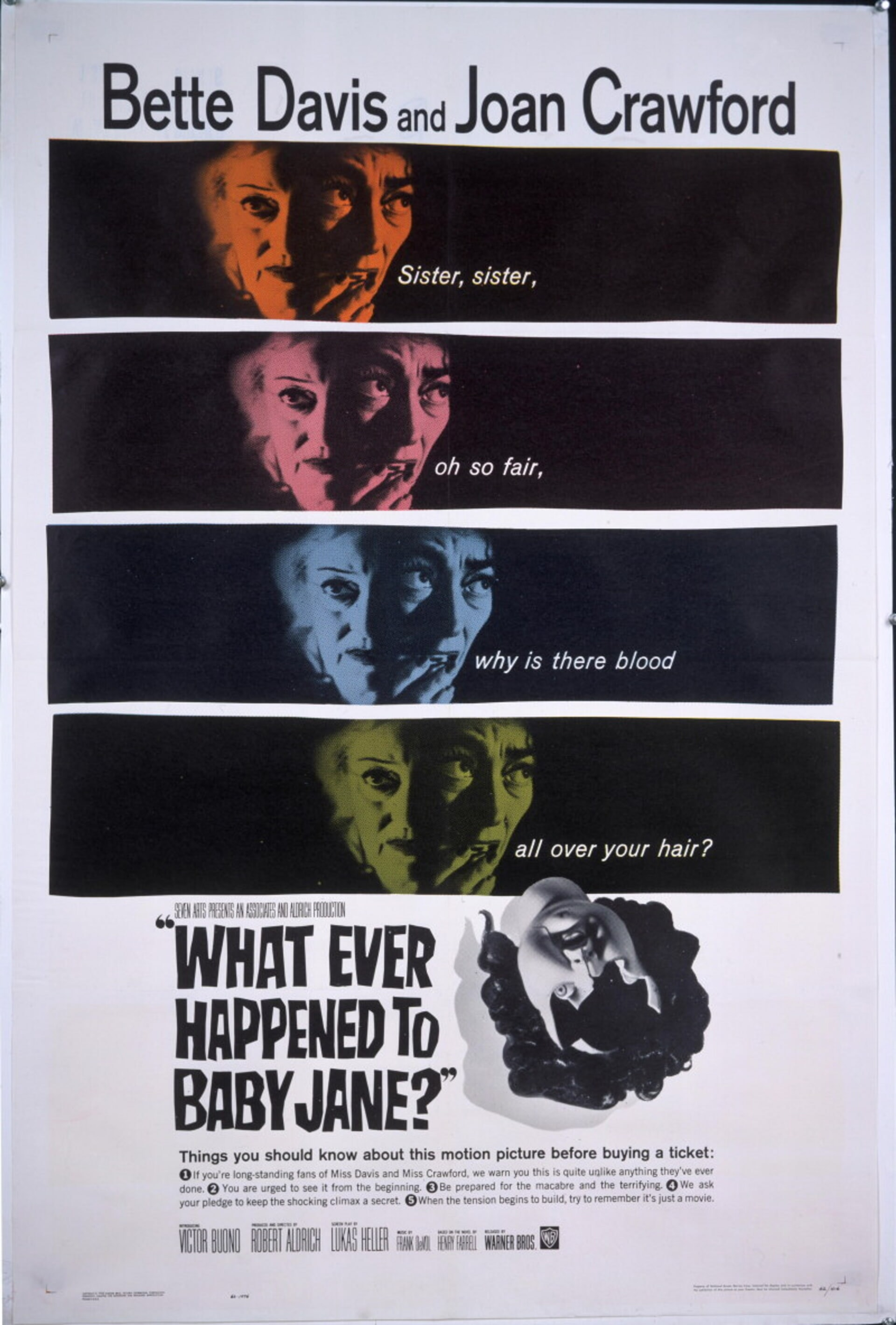 What Ever Happened to Baby Jane? - Poster 1