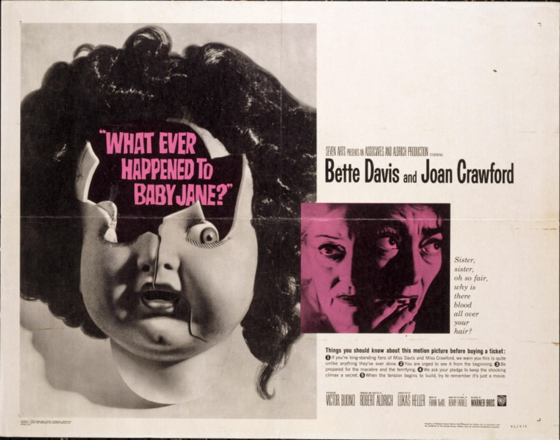 What Ever Happened to Baby Jane? - Poster 2