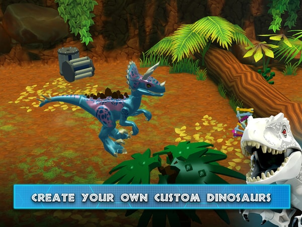 LEGO Jurassic World - Create Your Own Custom Dinosaur
