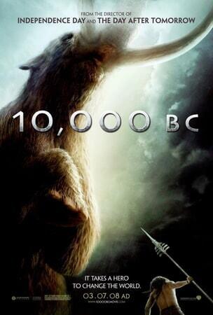10,000 BC - Poster 3