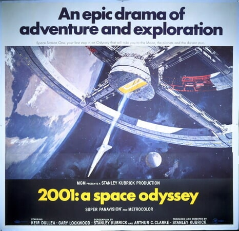 2001: A Space Odyssey - Poster 4