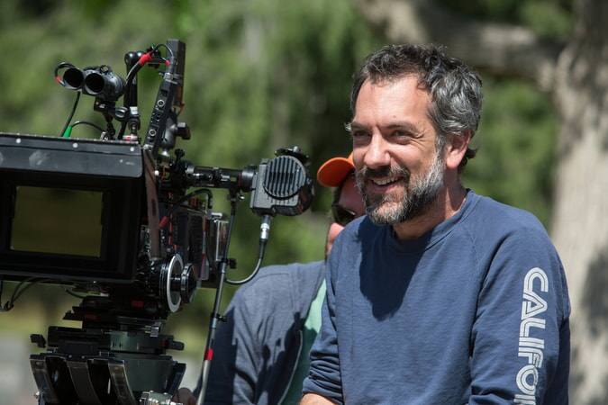 "Melinda Sue Gordon Caption: Director/writer/producer TODD PHILLIPS on the set of Warner Bros. Pictures' comedic drama (based on true events) ""WAR DOGS,"" a Warner Bros. Pictures release."