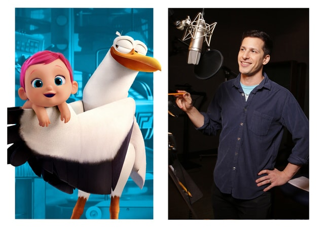 ANDY SAMBERG is the voice of Junior