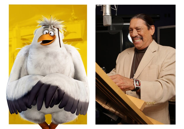 "DANNY TREJO is the voice of Jasper in the new animated adventure ""STORKS,"" a Warner Bros. Pictures release."