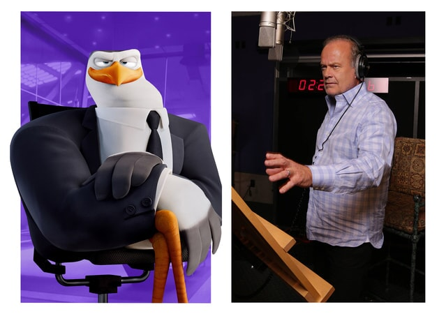 KELSEY GRAMMER is the voice of Hunter