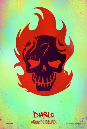 Suicide Squad Diablo poster
