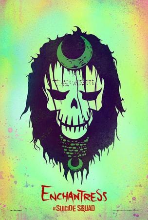 Suicide Squad Enchantress poster