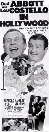 Abbott & Costello in Hollywood - Poster 1