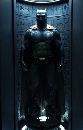 Bat suit in storage