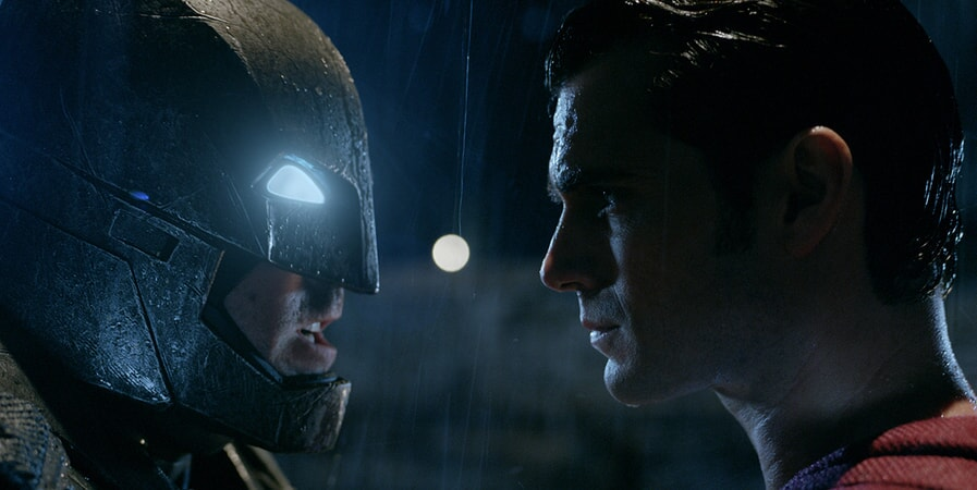 "BEN AFFLECK as Batman and HENRY CAVILL as Superman in Warner Bros. Pictures' action adventure ""BATMAN v SUPERMAN: DAWN OF JUSTICE,"" a Warner Bros. Pictures release."
