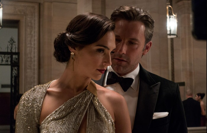 Gadot as Diana Prince / Wonder Woman and Ben Affleck as Bruce Wayne / Batman