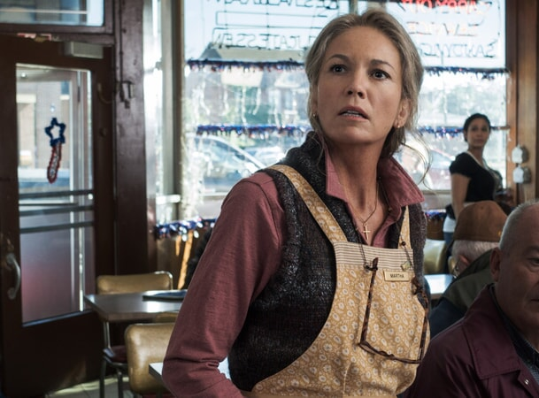 DIANE LANE as Martha Kent