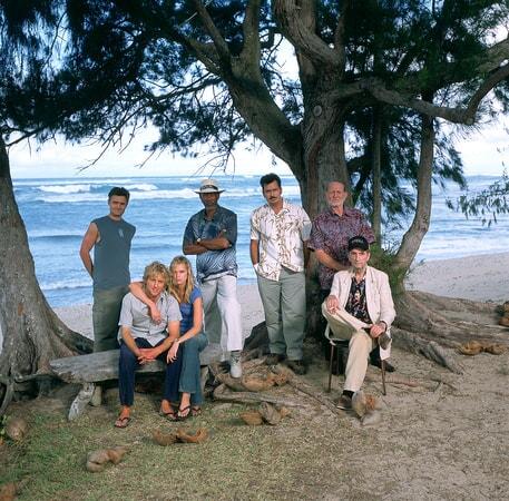 owen wilson, sara foster, charlie sheen, morgan freeman, willie nelson and harry dean stanton in the big bounce