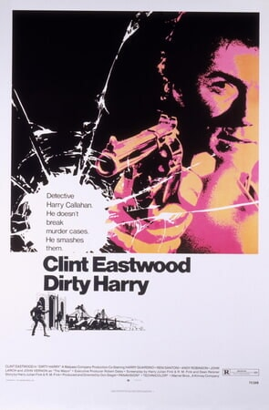 Dirty Harry - Poster 1