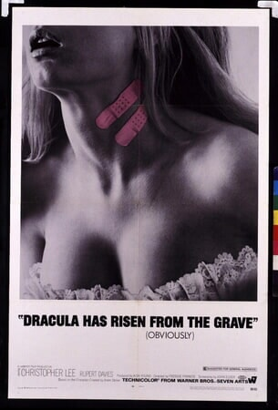 Dracula Has Risen from the Grave - Poster 1