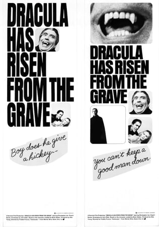 Dracula Has Risen from the Grave - Poster 12