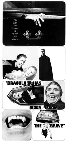 Dracula Has Risen from the Grave - Poster 13