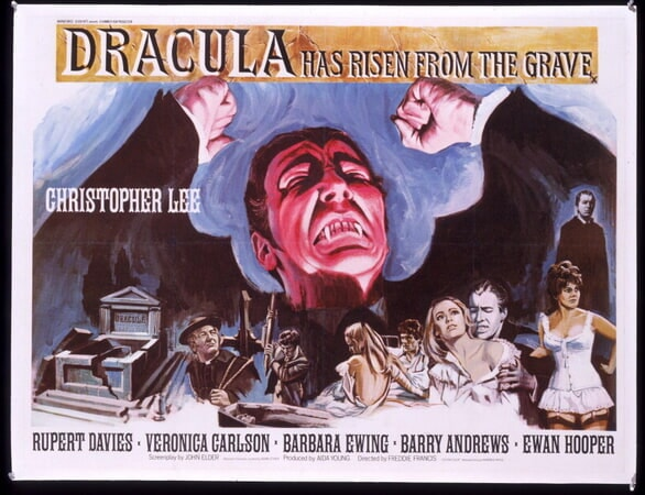 Dracula Has Risen from the Grave - Poster 14