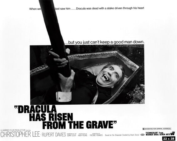 Dracula Has Risen from the Grave - Poster 15