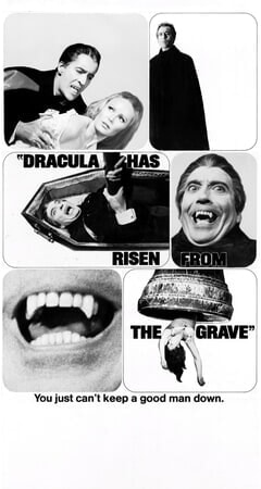 Dracula Has Risen from the Grave - Poster 3