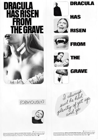 Dracula Has Risen from the Grave - Poster 7