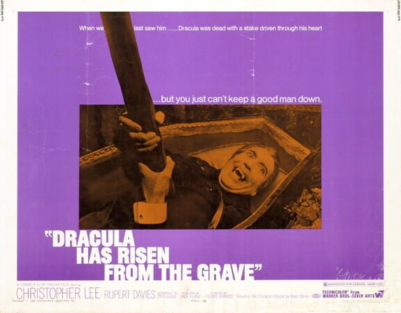 Dracula Has Risen from the Grave - Poster 10