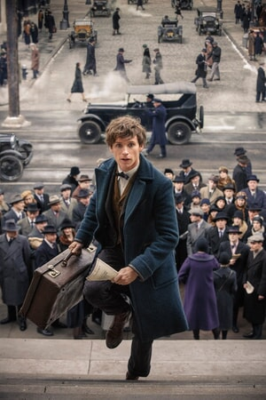 Eddit Redmayne: FANTASTIC BEASTS AND WHERE TO FIND THEM
