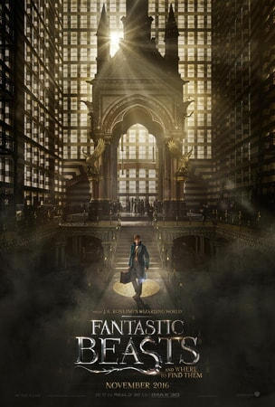 Fantastic Beasts and Where to Find Them poster 1