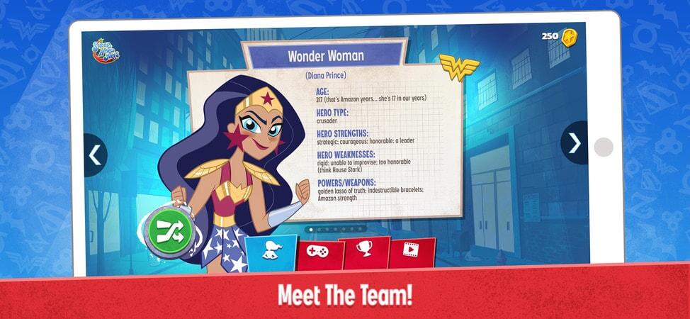 DC Super Hero Girls: Meet The Team