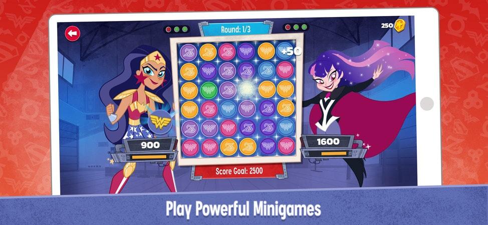 DC Super Hero Girls: Play Powerful Minigames