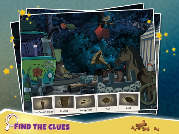 Scooby-Doo Mystery Cases - Find the Clues