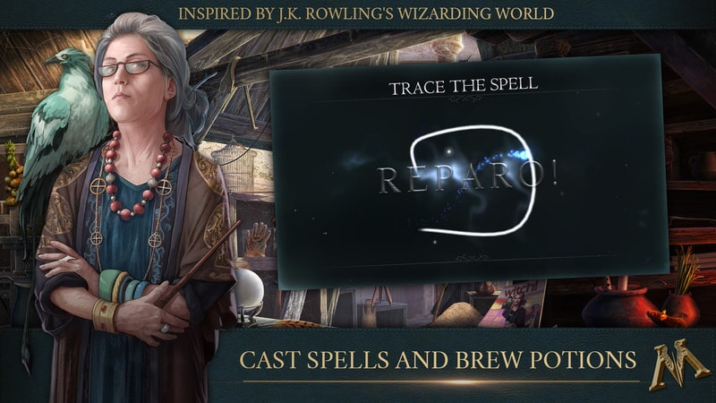 Fantastic Beasts Cases From the Wizarding World: Cast Spells and Brew Potions