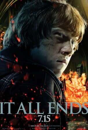 Harry Potter and the Deathly Hallows - Part 2 - Poster 3